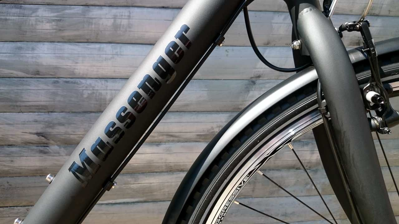 Massenger Berlin - das Fahrrad zur Critical Mass